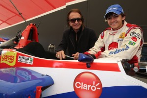 Pietro Fittipaldi (BRA) Jamun Racing Formula Renault  and Emerson Fittipladi